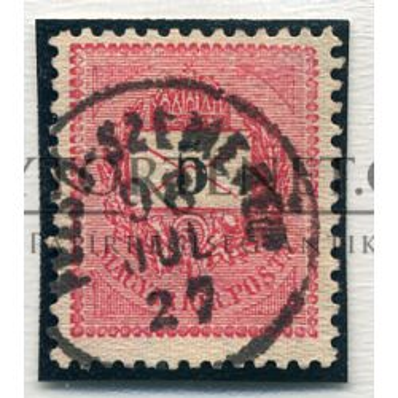 FELSŐSZEMERÉD 5Kr szép bélyegzés
