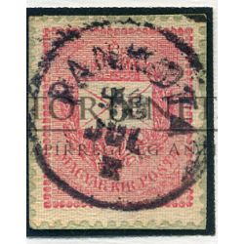 PANKOTA 5Kr szép  bélyegzés